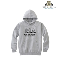 Hoodie - Pullover - King of Prism by Pretty Rhythm / Ichijou Shin & Over The Rainbow Size-L