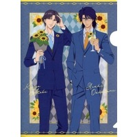 Plastic Folder - Prince Of Tennis / Atobe & Yushi