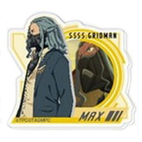 Acrylic stand - Acrylic Badge - Ultraman Series / Max (SSSS.GRIDMAN)