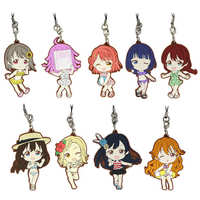 (Full Set) Rubber Strap - Kyun-Chara Illustrations - Love Live Series