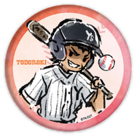 Trading Badge - GraffArt - Ace of Diamond / Todoroki Raichi