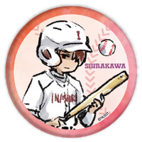 Trading Badge - GraffArt - Ace of Diamond / Shirakawa Katsuyuki