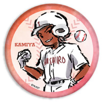 Trading Badge - GraffArt - Ace of Diamond / Carlos Toshiki Kamiya