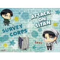 Mini Notebook - Shingeki no Kyojin / Levi & Eren