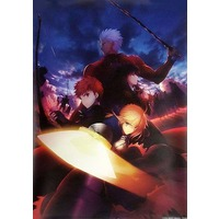 Poster - Fate/stay night / Shirou & Rin & Saber & Archer
