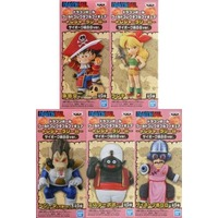 (Full Set) World Collectable Figure - Dragon Ball / Vegeta & Goku & Lunch (Dragonball)