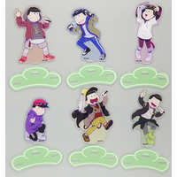(Full Set) Acrylic stand - COLLABO CAFE HONPO - Osomatsu-san