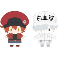 Finger Puppet - Hataraku Saibou (Cells at Work!) / Red Blood Cell (AE3803) & White Blood Cell