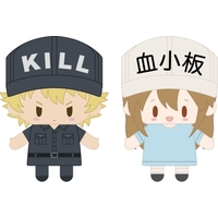 Finger Puppet - Hataraku Saibou (Cells at Work!) / Killer T Cell & Platelet