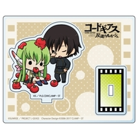 Acrylic stand - Code Geass / Lelouch & C.C.