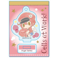 Acrylic stand - Gyugyutto - Sanrio / Red Blood Cell (AE3803)