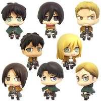 (Full Set) Color Cole - Shingeki no Kyojin