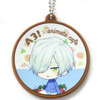 Rubber Key Chain - A3! / Mikage Hisoka
