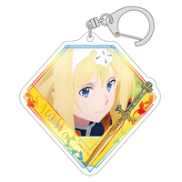 Acrylic Key Chain - Sword Art Online / Alice Schuberg