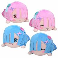 Nesoberi Plush - Re:ZERO / Rem & Ram