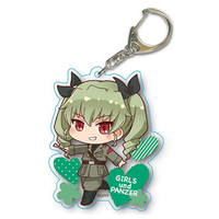 Acrylic Key Chain - GIRLS-und-PANZER / Anchovy