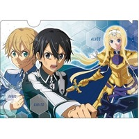 Plastic Folder - Sword Art Online / Kirito & Eugeo & Alice