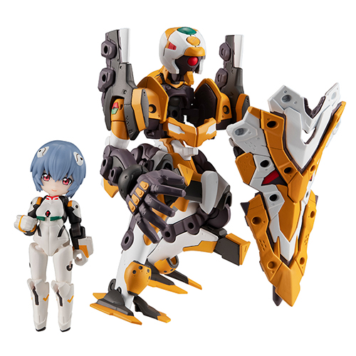 Figure - Evangelion / Unit-01 & Shinji & Unit-00 & Rei