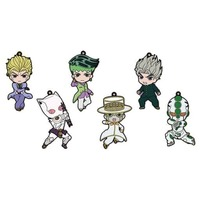 (Full Set) Rubber Strap - Jojo Part 4: Diamond Is Unbreakable / Heaven's Door & Hirose Koichi & Rohan & Kira