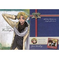 Mini Notebook - Code Geass / Gino Weinberg