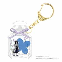 Key Chain - Demon Slayer / Iguro Obanai