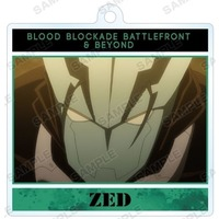 Trading Acrylic Key Chain - Blood Blockade Battlefront / Zed O'Brien