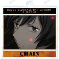 Trading Acrylic Key Chain - Blood Blockade Battlefront / Chain Sumeragi