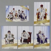 (Full Set) Postcard - Blood Blockade Battlefront / Zap & Leonard & Klaus & Steven